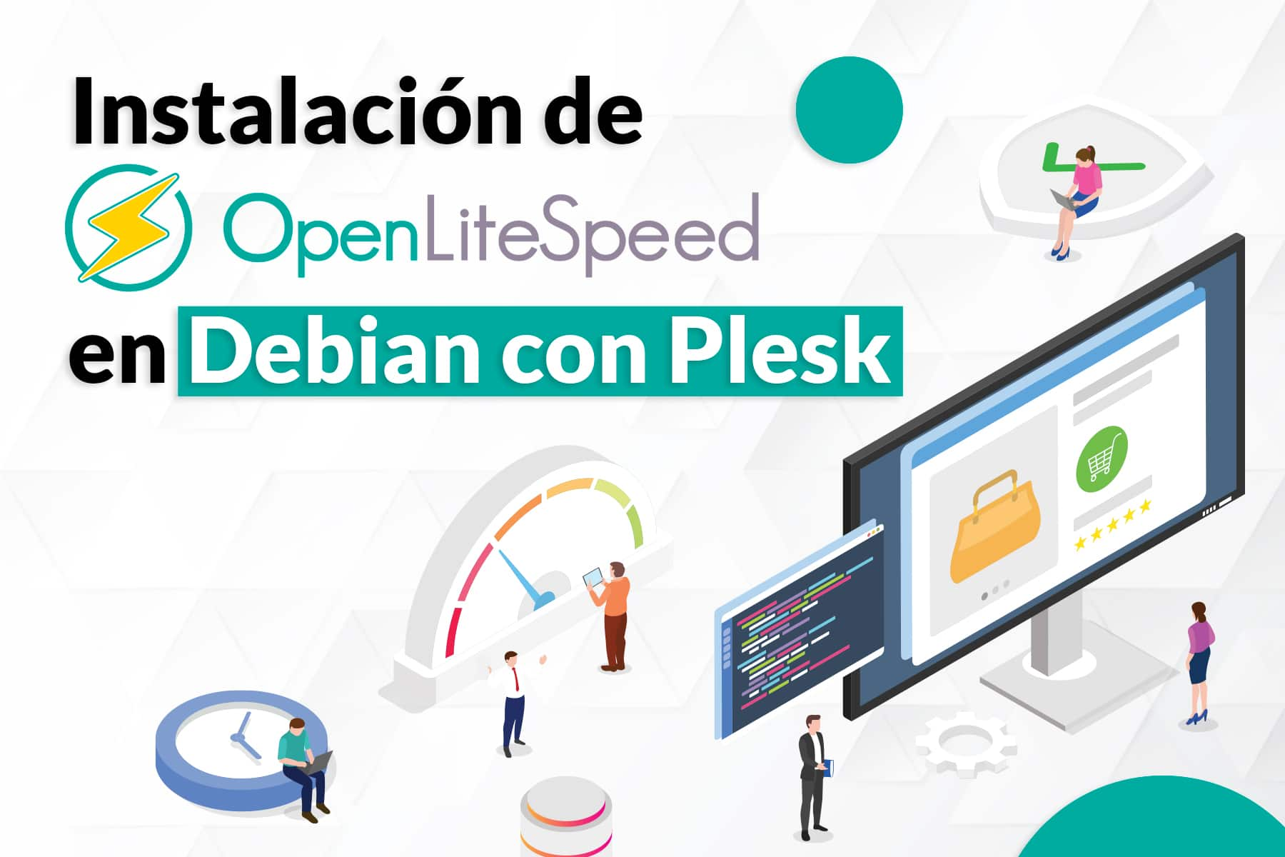 Cómo instalar onpenlitespeed en Debian con Plesk