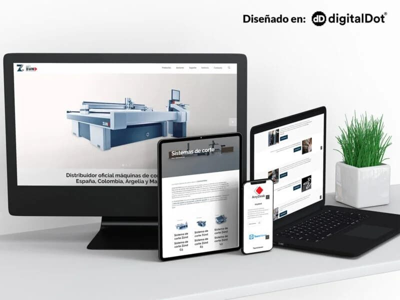Diseño web Zcam